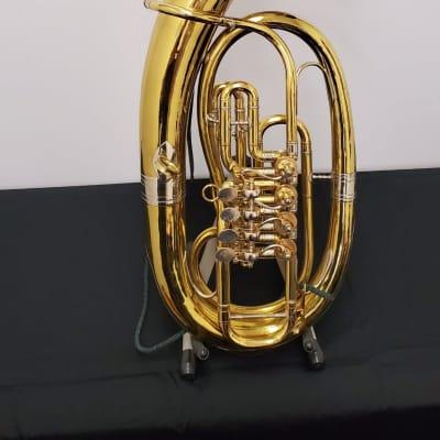 Handmade Kaiser Baritone  Lacquered Brass
