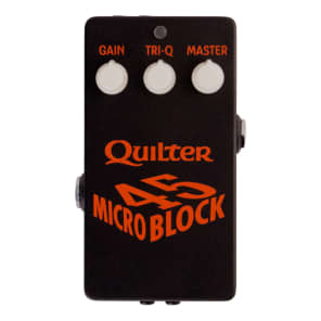 NEW! Quilter Micro Block 45- Pedal Sized Guitar Amp Head FREE SHIPPING!