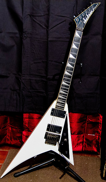 jackson randy rhoads pro 1990 white one of the first reverb. Black Bedroom Furniture Sets. Home Design Ideas