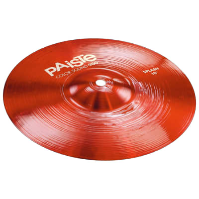 "Paiste Color Sound 900 Series 10"" Red Splash Cymbal"