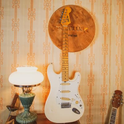 1979 Strat Cream Musima Lead Star Custom Shop Vintage Electric Guitar USSR for sale