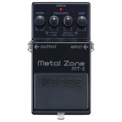 BOSS MT-2 30th Anniversary Special Edition Metal Zone Distortion for sale