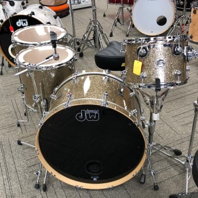 "DW Performance Series 13""/16""/18""/24"" 4PCS Shell Pack Finish Ply Sparkle"