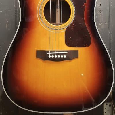 Guild USA D-55 Acoustic Guitar, Antique Burst for sale