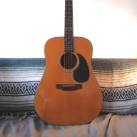 1970s Martin Sigma DM-4C, Vintage MIK Acoustic, Mahogany Dreadnought, Grover Tuners for sale