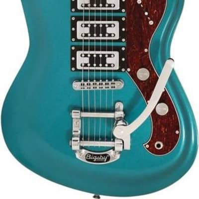Italia Modena Challenge Metallic Turquoise W/ Bag   MODCHLLG-MTQ for sale