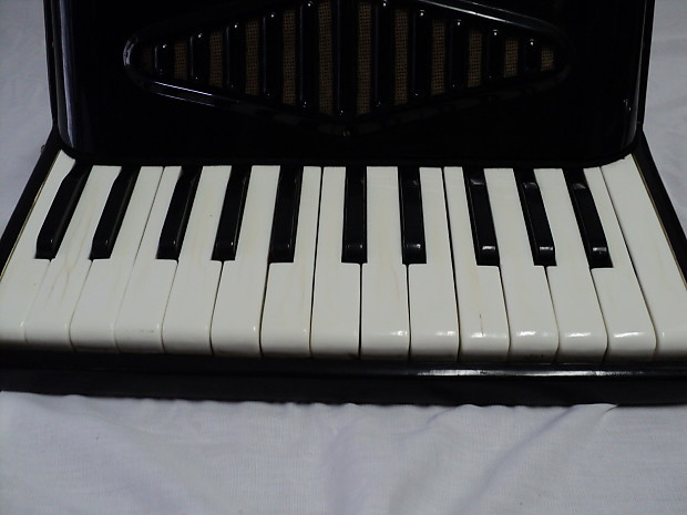 Vintage Video Student Black Accordion Made In Italy Reverb