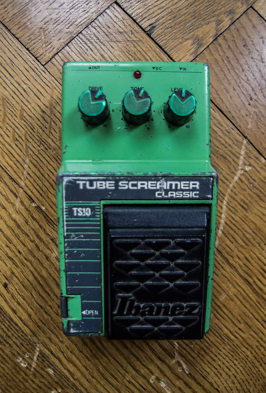 Vintage Ibanez TS10 Tube Screamer Classic, Made in Japan
