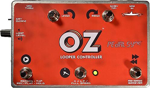 molten voltage oz looper controller works with strymon reverb. Black Bedroom Furniture Sets. Home Design Ideas