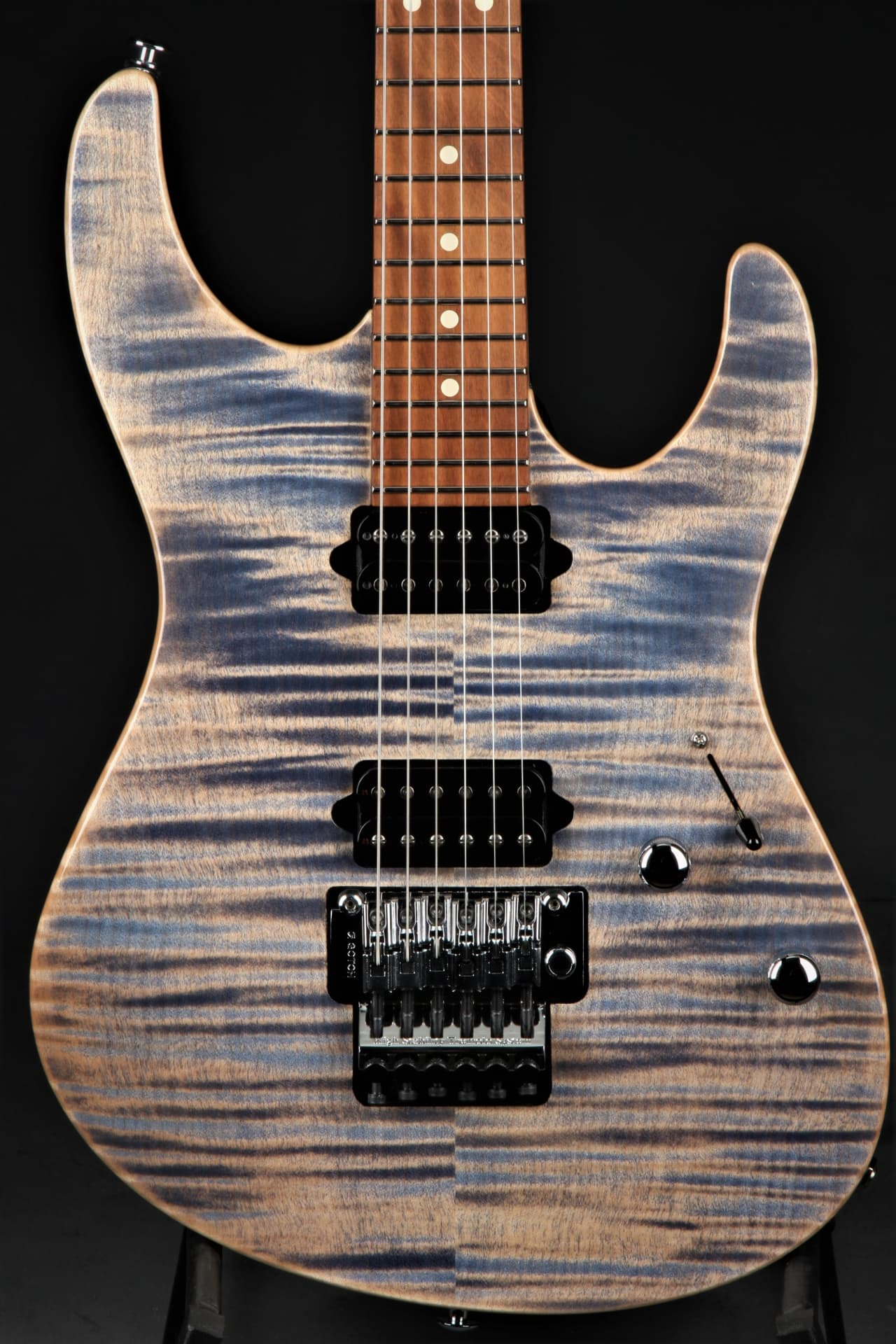 suhr modern pro trans blue denim slate eddie 39 s reverb. Black Bedroom Furniture Sets. Home Design Ideas