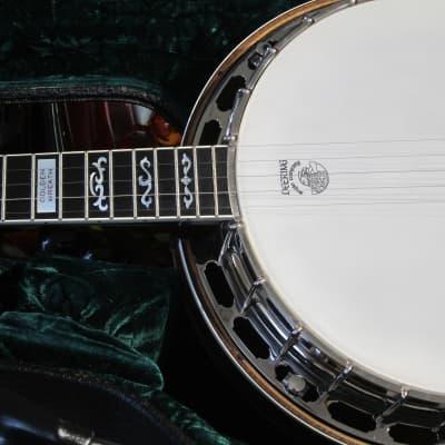 Vintage 2002 Deering Golden Wreath 5 String Banjo All Original Near Mint w Hard Shell & Paperwork