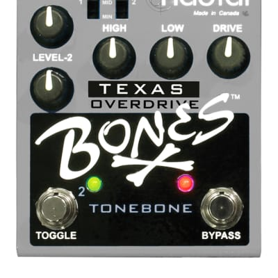 Radial Engineering Bones Texas R800-7110-00 Dual Overdrive Pedal