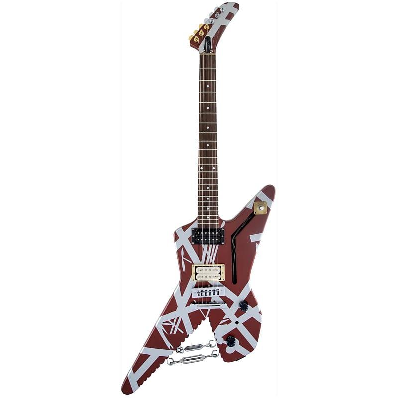 Evh Eddie Van Halen Striped Series Shark Electric Guitar Reverb