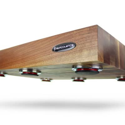 IsoAcoustics Delos 1815W2 | Turntable Isolation Board (Walnut) | ProAudioLA