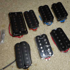 7 Humbucker Pickups -- 2-Wire