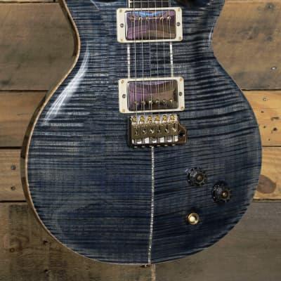 PRS Santana Retro Electric Guitar Faded Whale Blue w/ Case