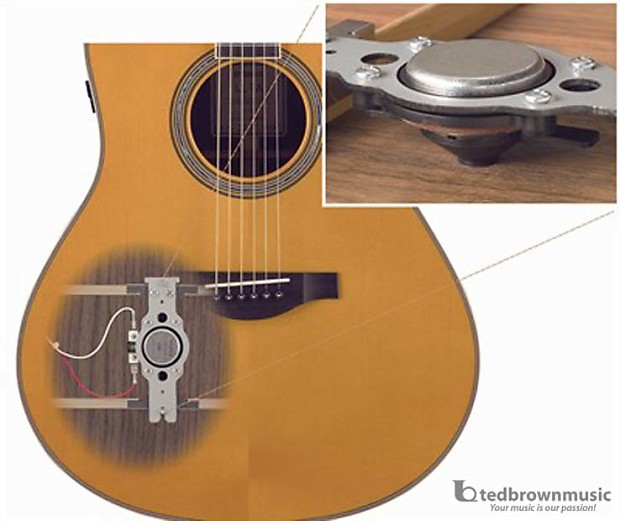 Yamaha ls ta small body transacoustic guitar vintage for Yamaha ls ta