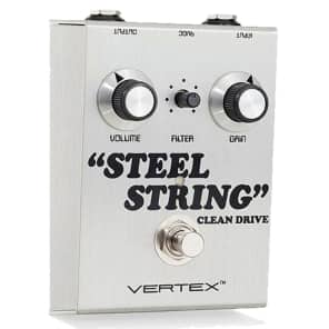 NEW! Vertex Effects Steel String Clean Drive