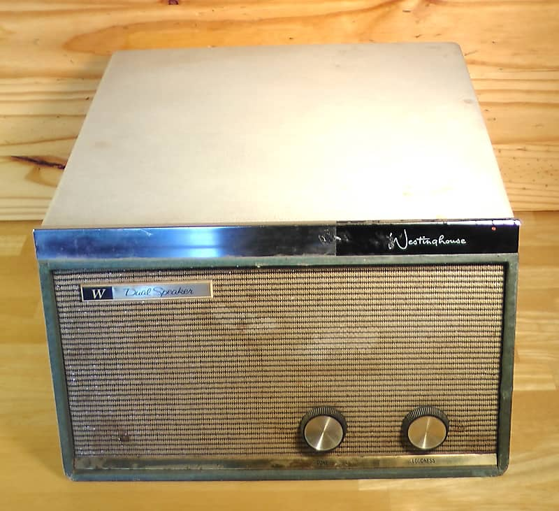 Record Player Vintage Westinghouse H-44AC1 1959 Turn Table