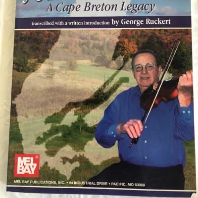 John Campbell A Cape Breton Legacy Violin Sheet Music Song Book Songbook