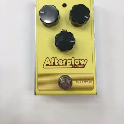 TC Electronic Afterglow Analog Chorus True Bypass Guitar Effect Pedal