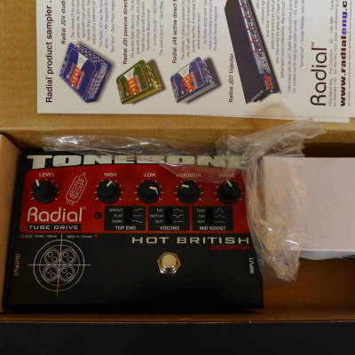Radial Tonebone Hot British Distortion from the personal collection of Ben Harper