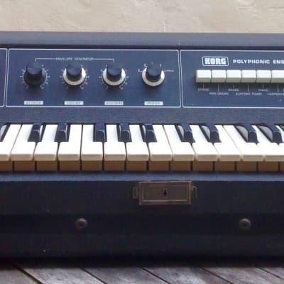 Korg Polyphonic Ensemble PE 1000 1976 Noir