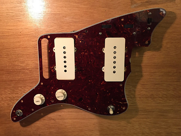 Fender Classic Player Jazzmaster loaded pickguard assembly