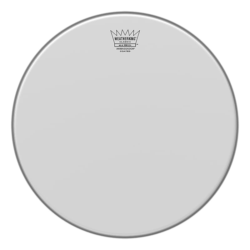 remo 20 ambassador classic coated bass drumhead reverb. Black Bedroom Furniture Sets. Home Design Ideas