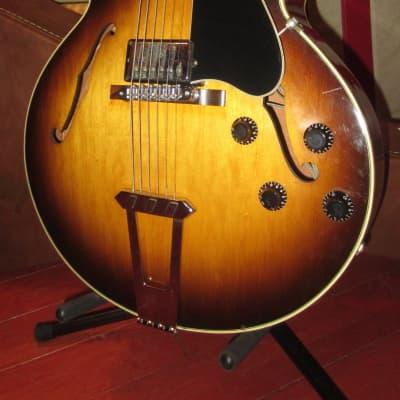 Pre-Owned 1987 Gibson ES-175 Hollowbody Electric Guitar Sunburst w/ Original Case for sale