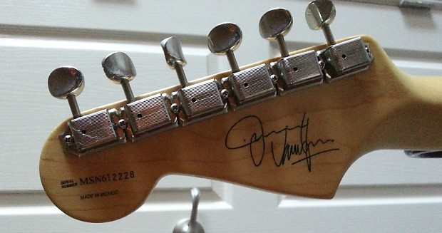 Fender Jimmie Vaughan Signature Tex Mex Stratocaster 1997