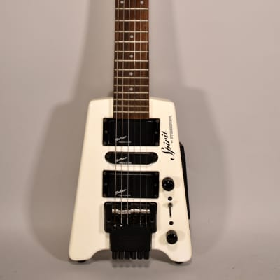 Steinberger Spirit GT-Pro Deluxe White Finish Electric Guitar for sale