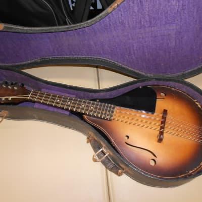 Strad-o-lin A style mandolin circa 1930's sunburst for sale