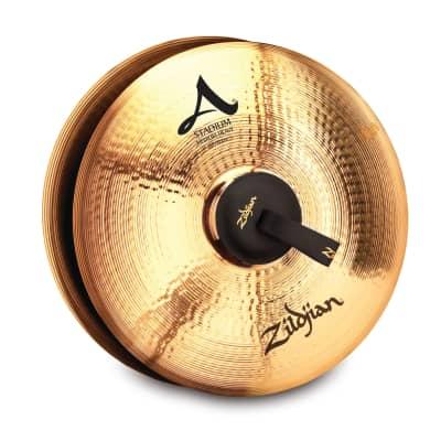 "20"" A ZILDJIAN STADIUM SERIES MEDIUM HEAVY - PAIR Cymbal A0497"