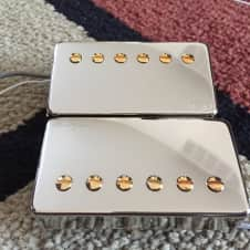 Paul Reed Smith 57/08 Pickup set Chrome with Gold Poles - Treble and Bass, 59/09, 53/10, dragon i ii