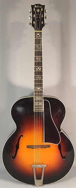 Used Early 1939 Gibson L7 Acoustic Guitar With Original