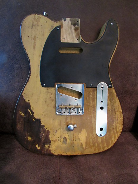telecaster b bender body matney custom benders 2016 relic reverb. Black Bedroom Furniture Sets. Home Design Ideas