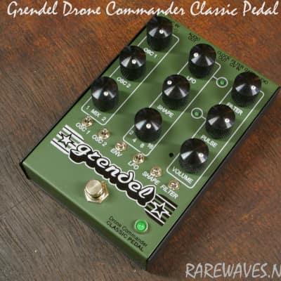 Grendel Drone Commander Classic Pedal - New 2017 analog synthesizer