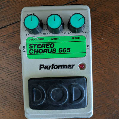 DOD Performer Stereo Chorus 565 w/factory Power Supply! for sale
