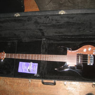 Ampeg ADA4 Dan Armstrong Lucite Bass Reissue Smoked, 2 Pickups, Case, Tool, Brochure