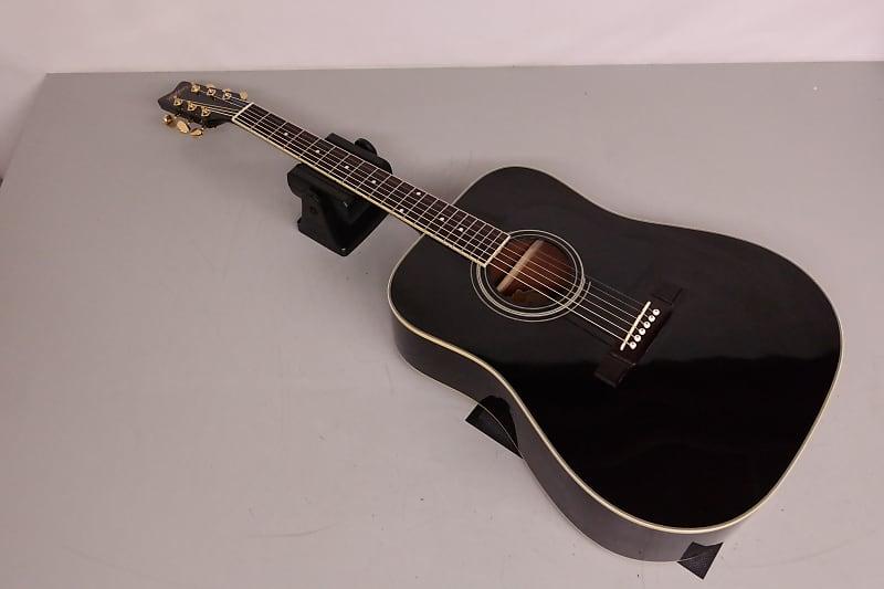 Washburn D100B Acoustic Guitar Black | McBride Music | Reverb