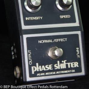 Pearl F-601 Phase Shifter s/n 500833  late 70's Japan for sale