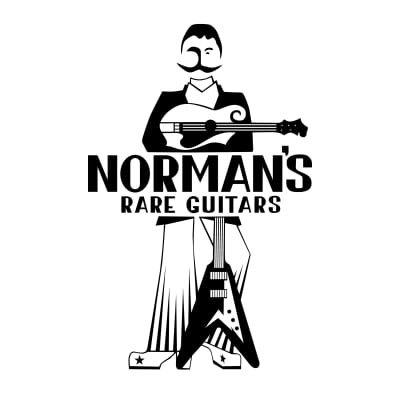 Norman's Logo White S