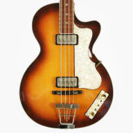 2002 Hofner 500/2 Club Bass Vintage Reissue - Incredible Example, Major Vintage Vibe, Gotta See!