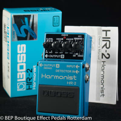 Boss HR-2 Harmonist 1995 Pink Label s/n ZH02547
