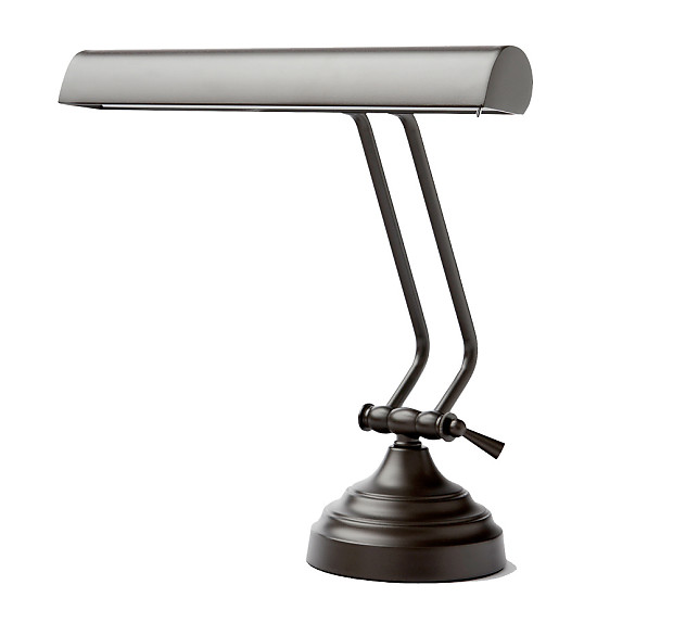 Cocoweb 12 led piano desk lamp mahogany bronze reverb for 12 led table lamp