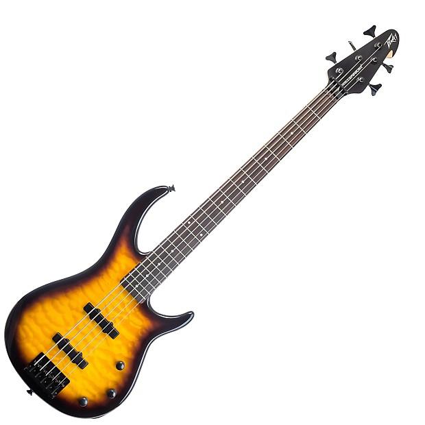 peavey millennium 5 vintage burst 5 string bass guitar reverb. Black Bedroom Furniture Sets. Home Design Ideas