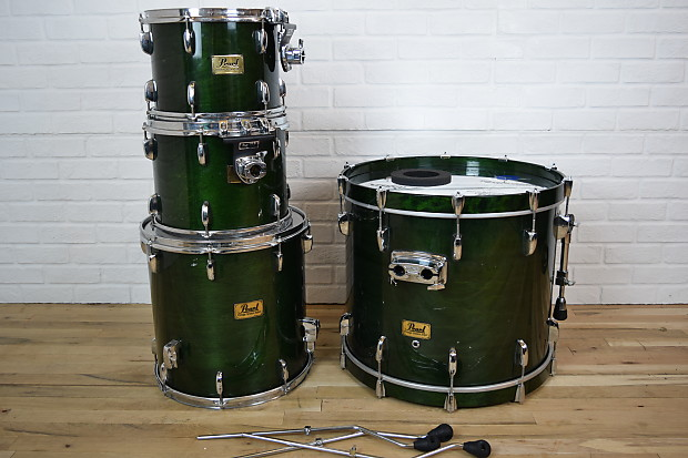pearl prestige session select drum set kit excellent used reverb. Black Bedroom Furniture Sets. Home Design Ideas
