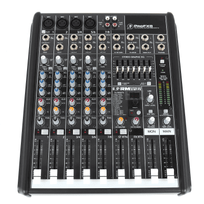 Mackie ProFX8 8-Channel Effects Mixer