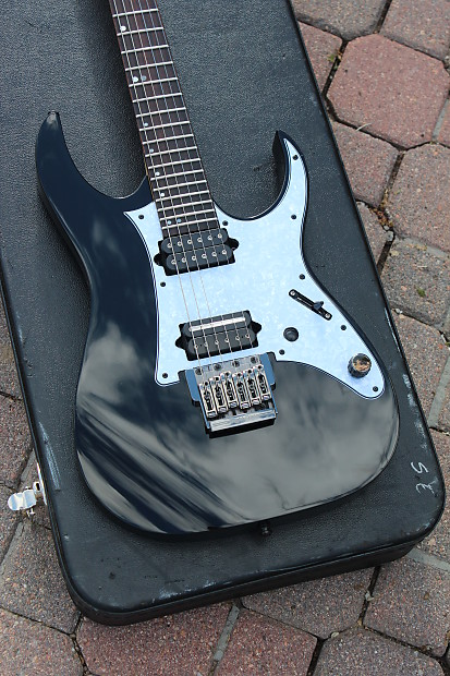 2013 Ibanez Premium RG921F BK Black Guitar UPGRADED DIMARZIO Petrucci  Pickups Gotoh Locking Tuners